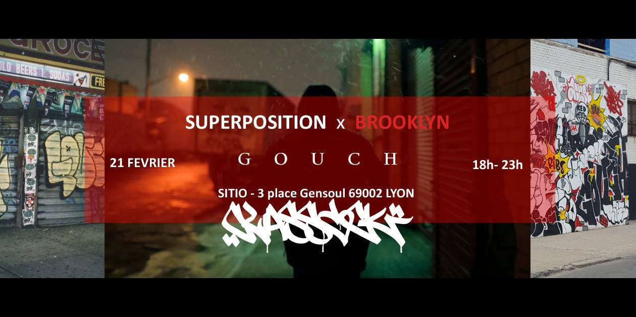 SITIO par Superposition inv. Brooklyn   Projection film : GOUCH