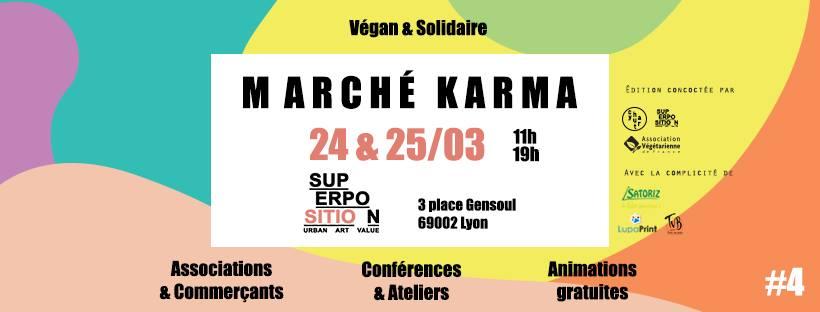 Marché Karma #4 (vegan & solidaire) chez SITIO
