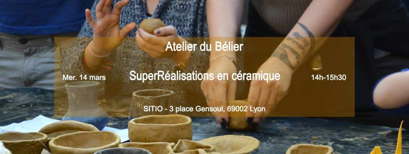 SuperRéalisations en céramique   l'Atelier du Bélier