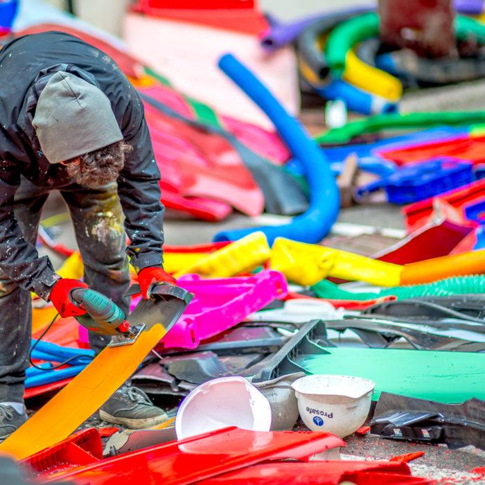 Bordalo II, l'artiste qui transforme les déchets en œuvres d'art