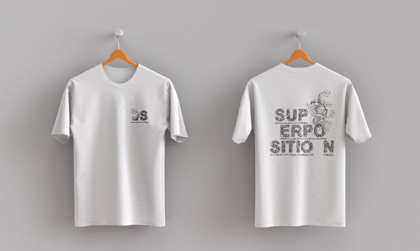 Nouvelle ligne textile Mani x Superposition