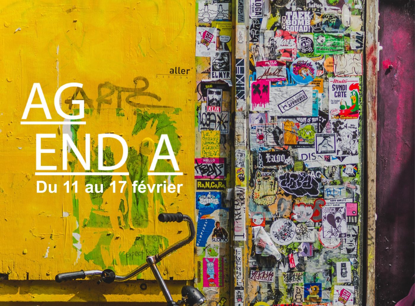 Agenda culturel de la semaine (11 > 17 février)