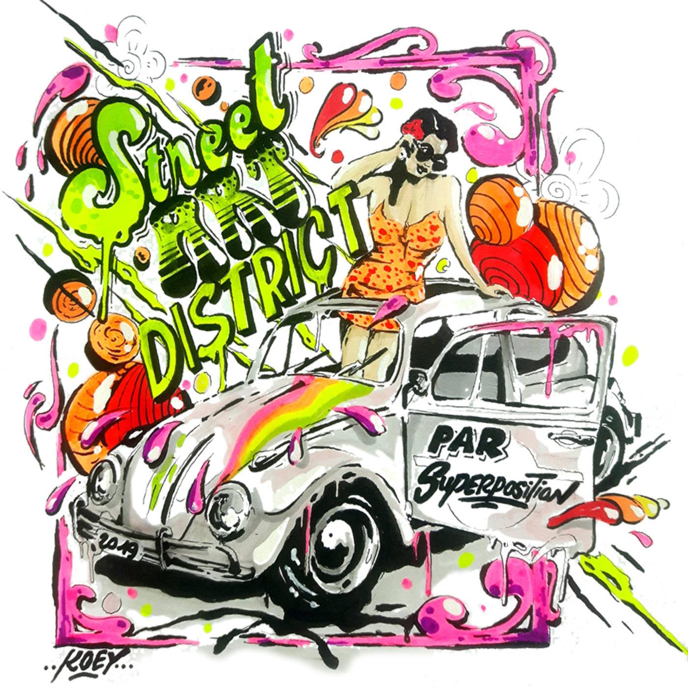 Street-Art District   Foire de Lyon